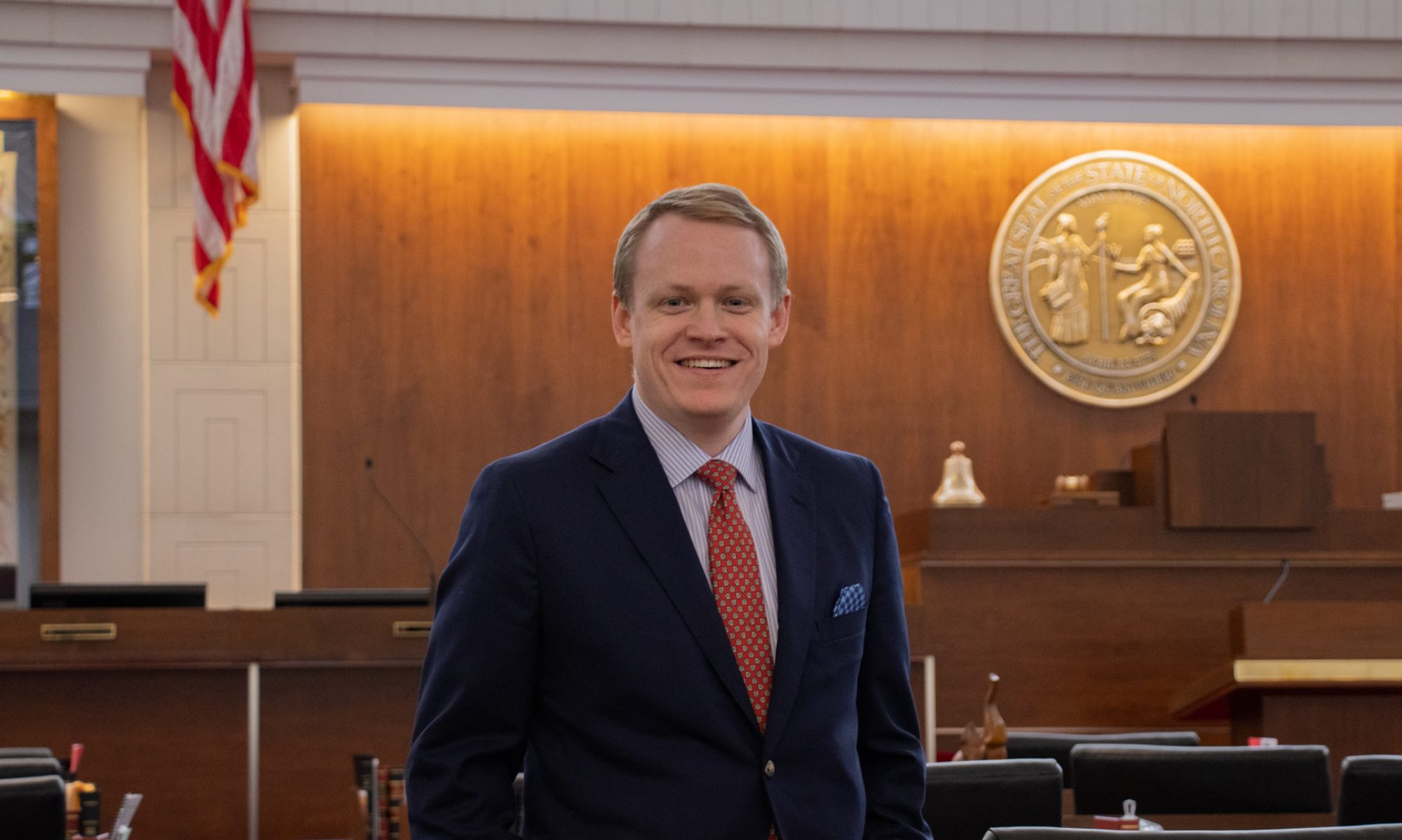 Representative Destin Hall
